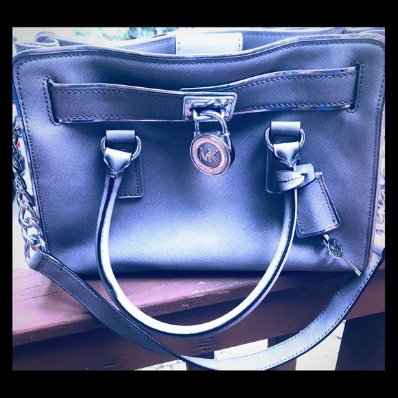 Michael Kors Handbags - Michael Kors Small Hamilton Handbag